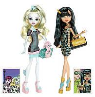 Набор кукол Монстер Хай Monster High Scaris Exclusive 2-Pack Lagoona Blue & Cleo De Nile, Путешествие в Скариж