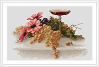 """Набор для вышивания """"Цветы и виноград"""""""