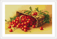 "Набор для вышивания ""Корзина с вишнями """
