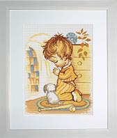 """Набор для вышивания """"Молитва мальчика"""""""