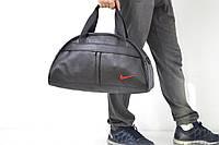 Спортивная сумка Nike логотип красный  реплика, фото 1