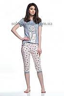 Піжама ELLEN жіноча з бриджами Мрійниця (Зірочки) 083/001