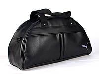 Спортивная сумка Puma логотип белый  реплика, фото 1