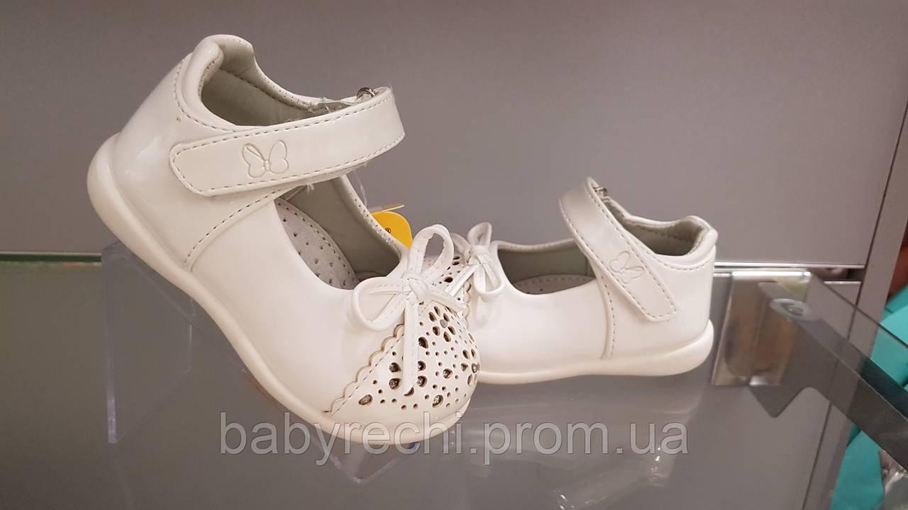 d76f64a4a Детские нарядные белые туфли на девочку Clibee 20-25 - Оптово-розничный  интернет-