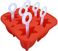 Форма силиконовая для мороженого 14*14*9.5см(шт)