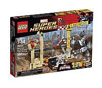 Конструктор Лего LEGO Super Heroes 76037 Рино и Песочный человек