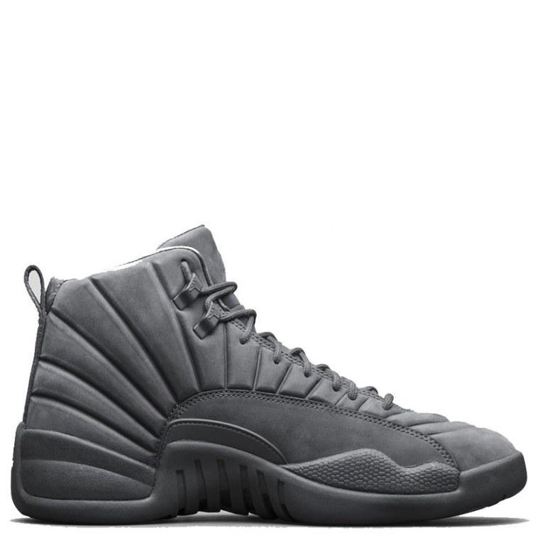9f83dbf4 Женские баскетбольные кроссовки Air Jordan 12 Retro «Grey»: продажа ...