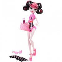 Кукла Монстер Хай Дракулаура Пляжная, Monster High Beach Beasties Draculaura Doll