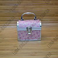 Сундук со съемной полочкой 7 Цветов Clever Розовый