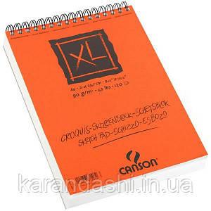 Альбом Сanson Сroquis XL, А4, 90g, 120л на спирали