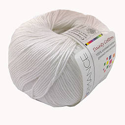 Пряжа Dainty Cotton, хлопок 100% (50г/155м) (02)