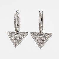 Серебряные серьги 500360-СР