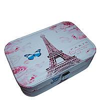 "Шкатулка для украшений"" Fairytale"" 6 Рисунков (Eiffel Tower)"