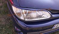 Реснички на передние фары для Renault Megane 1 1996-1999 ДОРЕСТ.