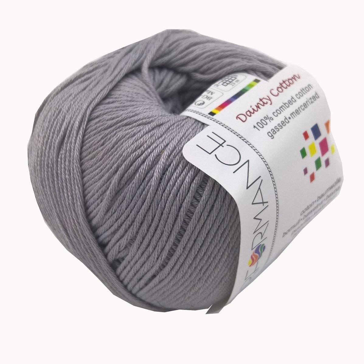 Пряжа Dainty Cotton, хлопок 100% (50г/155м) (232)