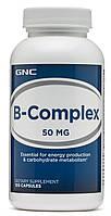 GNC B-Complex 50 mg 100 caps, фото 1