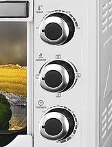 Электрическая духовка LIBERTON LEO-480 W с конвекцией и подсветкой, фото 2