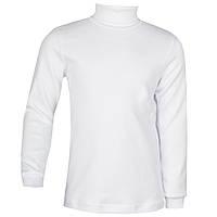 Детский свитер для девочки  белый р 80-122 см