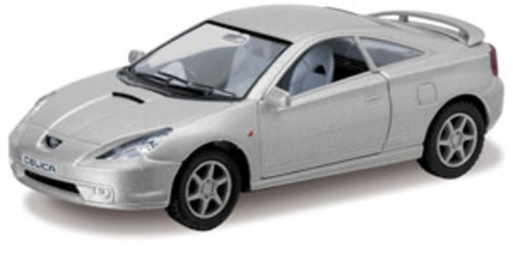 """Машина металлическая Kinsmart KT5038W """"Toyota Celica"""""""