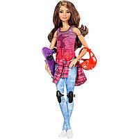 Кукла Барби йога на скейте Barbie.