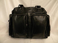 Кожаная мужская сумка, дорожная мужская сумка, городская сумка, прочная сумка, качественная сумка, фото 1
