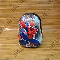 Рюкзак детский с панцирем Spider Man Черный