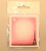 Бумага для заметок, с клейким слоем, Опять хочу в Париж, 67*74 мм, 30 листов, Атлас, Р-0112, 904739