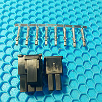 Разъем 6+2 pin пластик с контактами