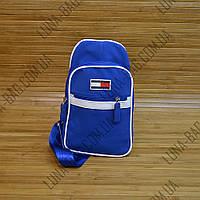 Сумка - барсетка через плечо Tommy Hilfiger 4 Цвета Голубой
