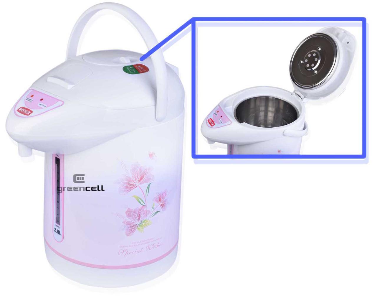 Термопот Rotex RTP300 R 2.8 L 800 Вт Чайник Термос