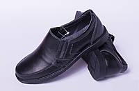 Подростковые туфли из натуральной кожи, кожаная детская обувь от производителя модель ДЖ3748