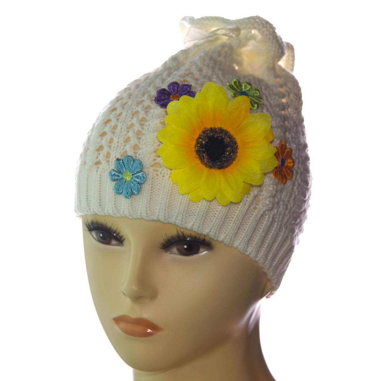 вязаная шапка для девочки даша продажа цена в одессе головные