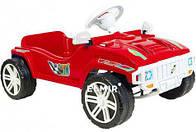 Машинка педальная для катания Орион Красная
