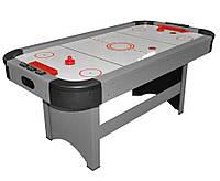 Игровой стол - Аэрохоккей (183x97x81см) Ice Power 180 серый, настольный хоккей