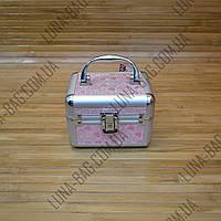 Стильный сундук для бижутерии 9 Цветов Сердечки Розовый