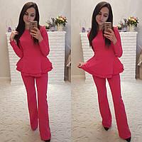 Женский стильный костюм.(4 цвета ), фото 1