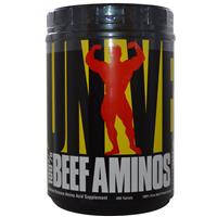 100% говяжьи аминокислоты, Universal Nutrition, С замедленным высвобождением аминокислот, 400 таблеток