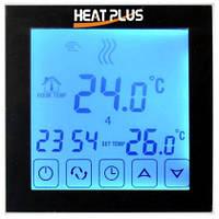 Сенсорный программируемый терморегулятор Heat Plus BHT 323GB Black, фото 1
