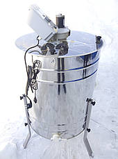 Медогонка 4х рамочная электрическая с поворотом кассет LYSON (Польша)., фото 2
