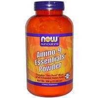 9 незаменимых аминокислот, Now Foods, Порошок, 330 г