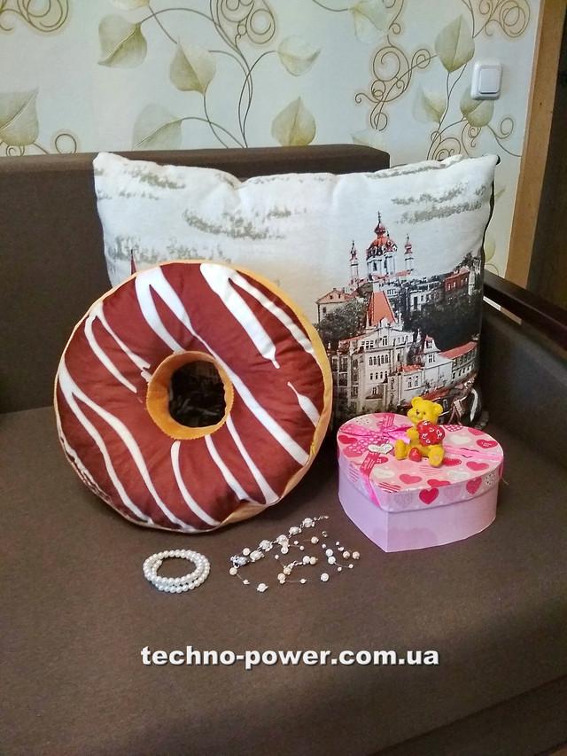 Игрушка-подушка с фотопринтом Пончик
