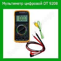 Мультиметр цифровой DT 9208!Опт