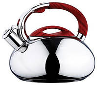 Чайник с цветной ручкой и крыш Ø220мм V=3000мл(шт)