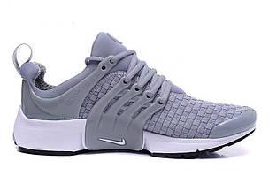 Мужские кроссовки Nike Air Presto Flyknit Grey