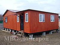 Дачный домик с верандой