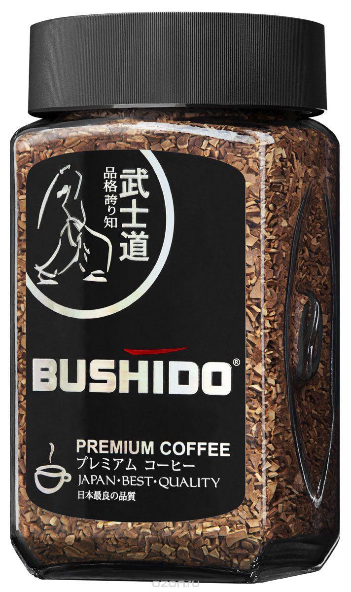 Кофе Bushido Black Katana сублимированный 100г