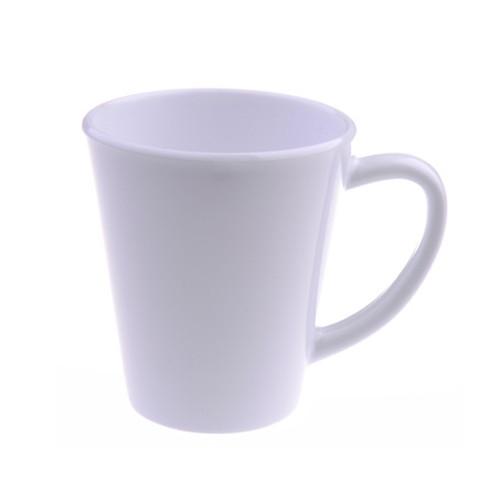 Чашка конусная белая  Latte Mug. 12OZ
