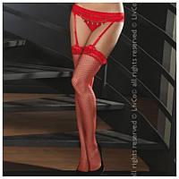 Пояс для чулков Livia Corsetti, красный, фото 1