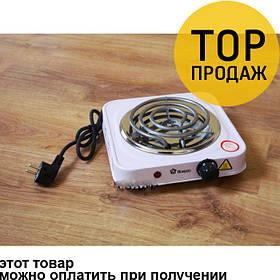 Плита электрическая переносная 1000W электроплита / Плитка на одну конфорку
