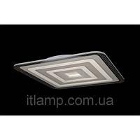LED люстра потолочная белого цвета квадрат LSk3877-1